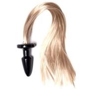 Пробка с длинным хвостом «Блонди»