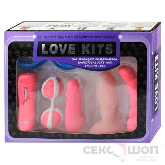 Набор из 6 анальных стимуляторов с вибрацией Love Kits. Вид 9.