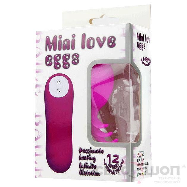 Необычный вибратор для клитора Miai Love Eggs. Вид 5.