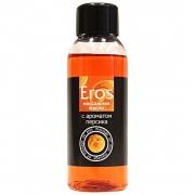 Массажное масло Eros exotic с ароматом персика (50 мл)