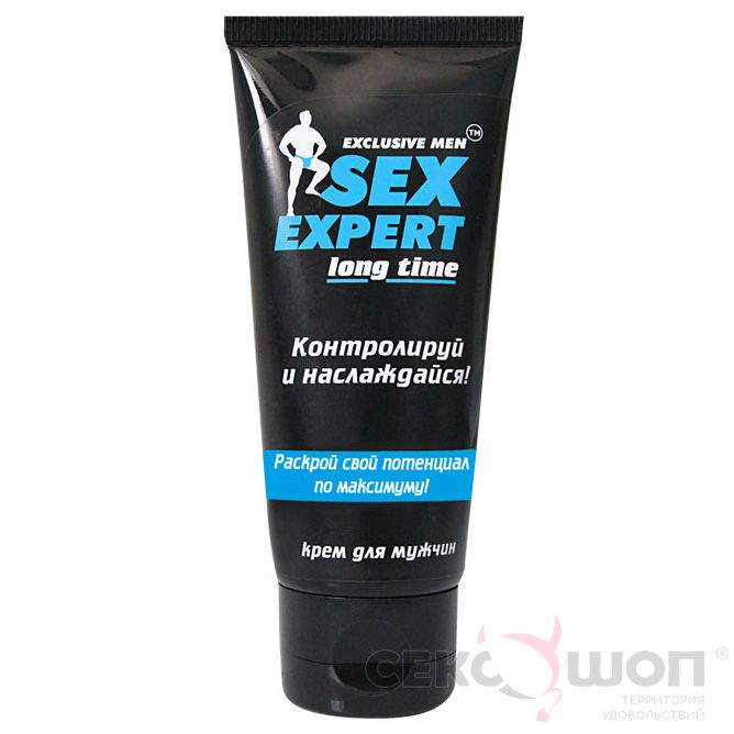 Пролонгатор для мужчин Sex Expert Long Time (40 мл). Вид 1.