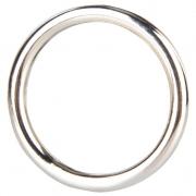 Стальное эрекционное кольцо STEEL COCK RING (3,5 см)