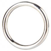 Стальное эрекционное кольцо STEEL COCK RING (4,5 см)