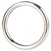 Стальное эрекционное кольцо STEEL COCK RING (4,8 см)