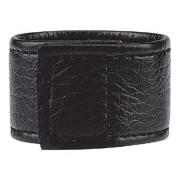 Чёрная утяжка на мошонку 1  Velcro Ball Stretcher