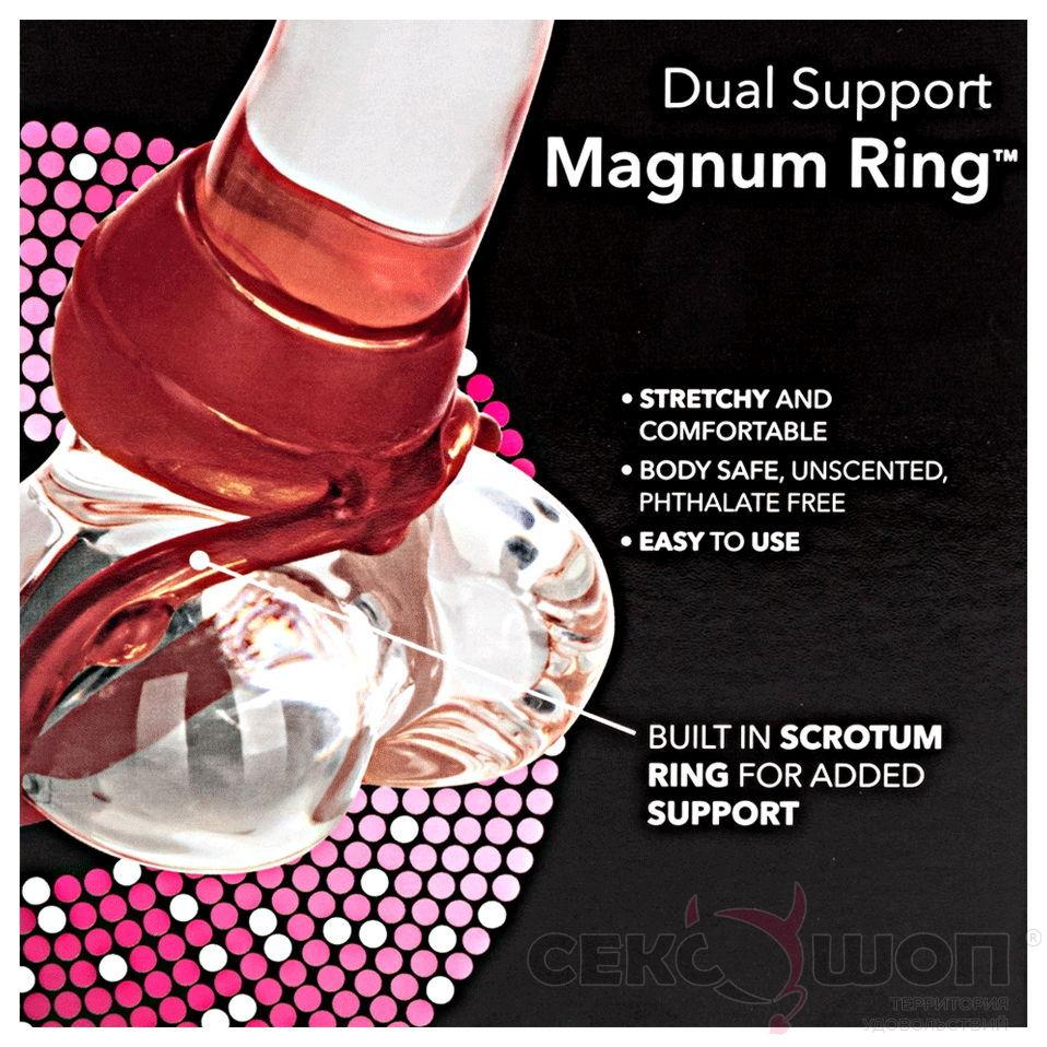 Широкое эрекционное кольцо DUAL SUPPORT MAGNUM RING. Вид 3.