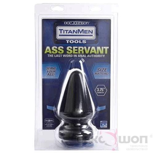 Гигантская анальная пробка TitanMen Ass Servant. Вид 2.