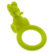 Эрекционное кольцо с вибрацией NEON FROGGY