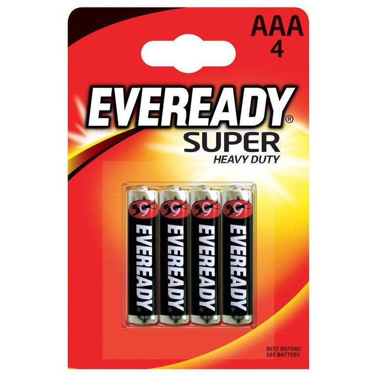 Батарейки EVEREADY SUPER R03 типа AAA (4 шт.). Вид 1.