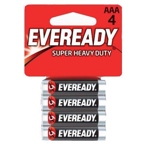 Батарейки EVEREADY R03 типа AAA (4 шт.). Вид 1.