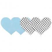 Набор пэстисов-сердец True Blue