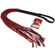 Плеть с глянцевыми шнурами 15 Tails Whip (82 см)