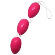 Розовые анально вагинальные шарики