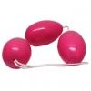 Розовые анально вагинальные шарики. Вид 2.