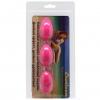 Розовые анально вагинальные шарики. Вид 3.