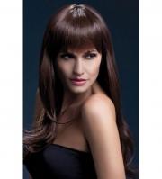 Каштановый парик Sienna