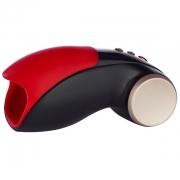 Чёрно красный вибромастурбатор Cobra Libre 2