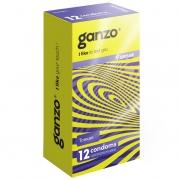 Тонкие кондомы для чувствительности Ganzo Sence (12 шт.)