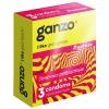 Презервативы с точечной и ребристой структурой Ganzo Extase (3 шт.). Вид 1.