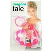 Анальная цепочка Dragonz Tale (розовая)