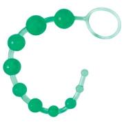 Классическая анальная цепочка (зеленая)
