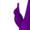 Фиолетовый ротатор с клиторальным стимулятором YUM. Вид 7.