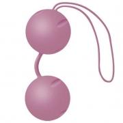 Розовые вагинальные шарики Joyballs с петелькой