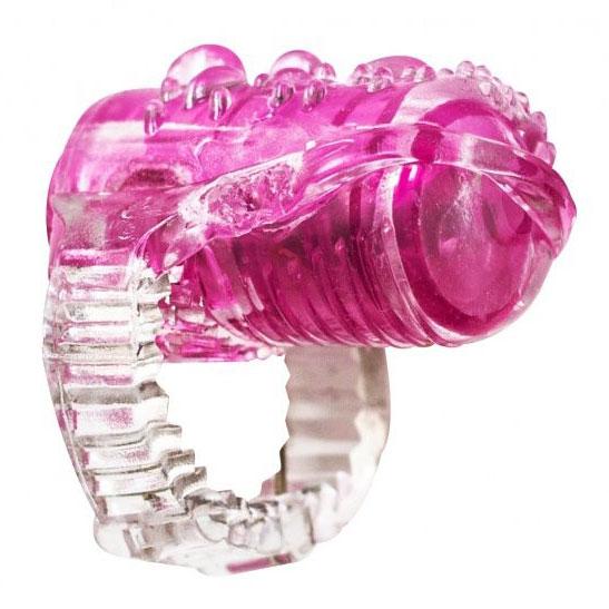 Насадка на язык Rings Teaser (розовая). Вид 1.