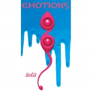 Вагинальные шарики Emotions Gi-Gi (розовые)
