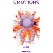 Эрекционное виброколечко Emotions Minnie (фиолетовое)