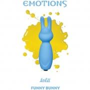 Мини-вибратор Emotions Funny Bunny (голубой)