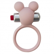 Эрекционное виброколечко Emotions Minnie Light pink