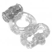 Эрекционное кольцо Rings Treadle с вибрацией и подхватом