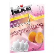 Презервативы Luxe с ароматом «Абрикос» (3 шт.)