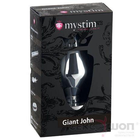 Огромная пробка с электростимуляцией Giant John. Вид 3.