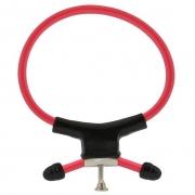 Красно-чёрное лассо с утяжкой RING OF POWER ADJUSTABLE