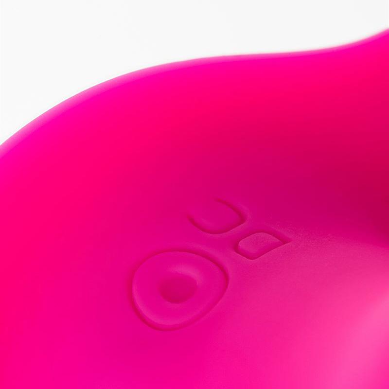 Розовая силиконовая вибровтулка Marley. Вид 7.