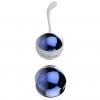 Синие и золотистые вагинальные шарики Nalone Yany. Вид 5.