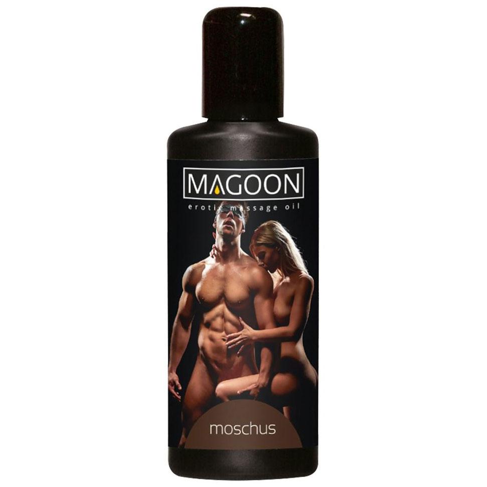 Массажное масло с запахом мускуса Magoon Muskus (50 мл). Вид 1.