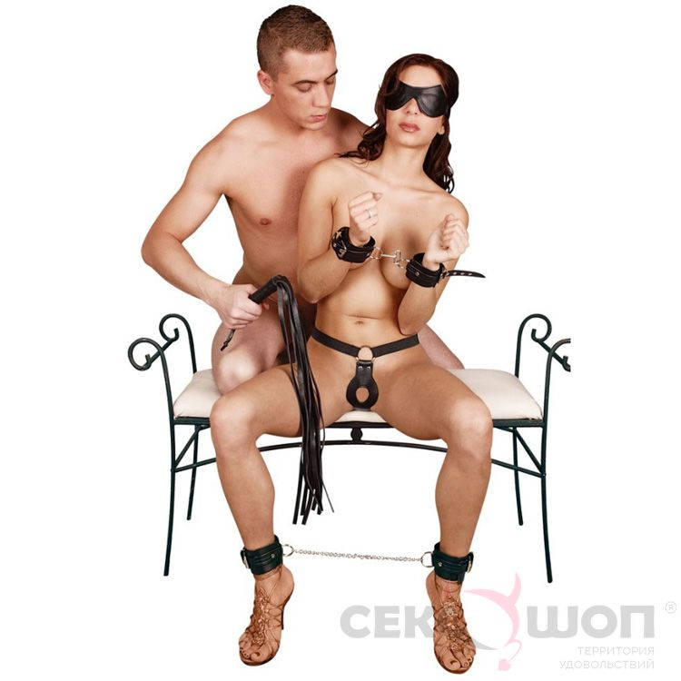 БДСМ-набор для бондажа Bad Kitty Bondage Set. Вид 7.
