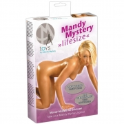 Секс-кукла Mandy с 3-мя любовными отверстиями