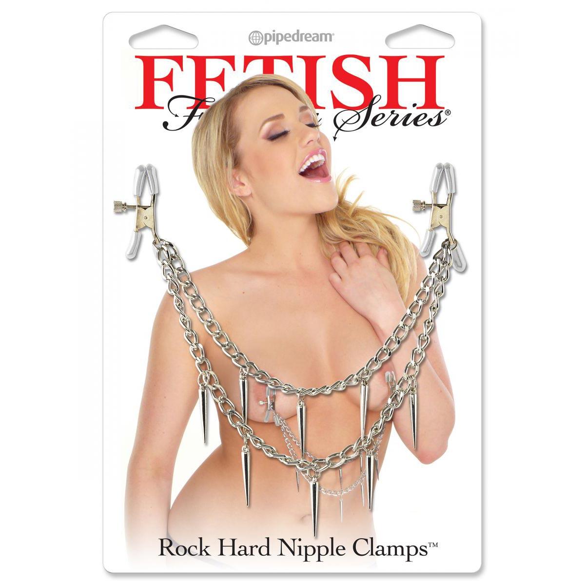 Зажимы для сосков Rock Hard Nipple Clamps. Вид 2.