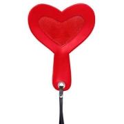 Шлепалка в форме сердца FURRY HEART PADDLE (24 см)