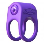 Эрекционное кольцо с подхватом мошонки Silicone Duo-Ring
