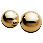 Металлические вагинальные шарики Ben-Wa Balls (золото)