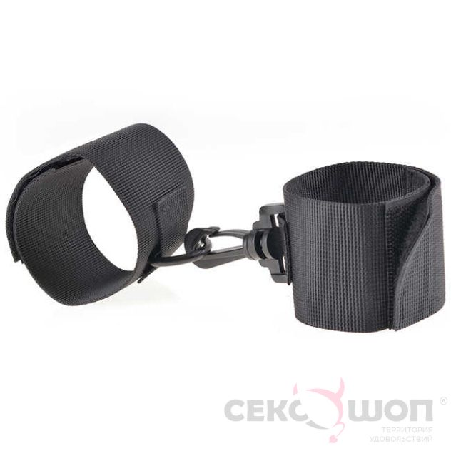 Мягкие наручники Beginners Nylon Cuffs. Вид 1.