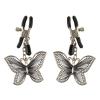 Зажимы на соски с бабочками Butterfly Nipple Clamps. Вид 2.