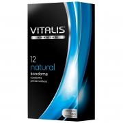 Классические презервативы VITALIS PREMIUM natural (12 шт.)