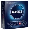 Презервативы MY.SIZE шириной 60 мм (3 шт.). Вид 1.