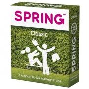 Классические презервативы SPRING CLASSIC (3 шт.)
